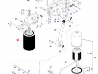 Масляный фильтр двигателя Sisu Diesel трактора Challenger — 836862582