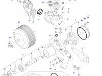 Ремкомплект водяного насоса трактора Challenger — 836862613