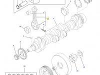 Шатун двигателя трактора Challenger — 836864101