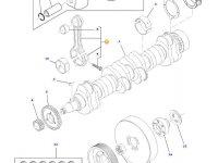 Шатун двигателя трактора Challenger — 836864102