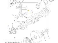 Шатун двигателя трактора Challenger — 836864103