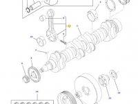 Шатун двигателя трактора Challenger — 836864104