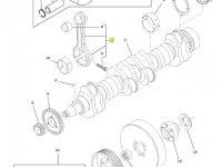 Шатун двигателя трактора Challenger — 836864105