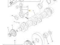 Шатун двигателя трактора Challenger — 836864106