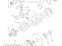 Шатун двигателя трактора Challenger — 836864107