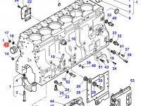 Вкладыши распредвала двигателя трактора Massey Ferguson — 836866069