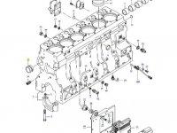 Вкладыши распредвала двигателя трактора Challenger — 836866069