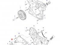 Натяжной ролик ремня двигателя Sisu трактор Challenger — 836866321