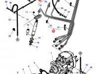 Комплект топливных трубок двигателя Sisu Diesel трактор Challenger — 836866408
