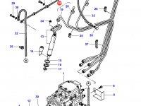 Комплект топливных трубок двигателя Sisu Diesel трактор Challenger — 836866426