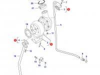 Турбокомпрессор двигателя трактора Challenger — 836866584