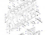 Гильза цилиндра двигателя Sisu Diesel трактор Challenger — 836867048 (836855445)