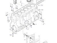 Гильза цилиндра двигателя трактора Massey Ferguson — 836867048
