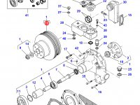 Шкив водяного насоса двигателя трактора Challenger — 836867182