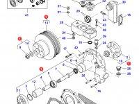 Охлаждающий(водяной) насос двигателя трактора Challenger — 836867227