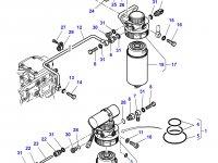 Топливный фильтр предварительный трактора Challenger — 836867233