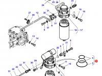 Топливоподкачивающий насос двигателя Sisu Diesel трактор Challenger — 836867383