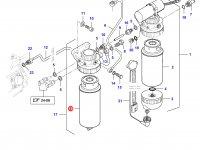Топливный фильтр (тонкой очистки) двигателя Sisu Diesel — 836867595