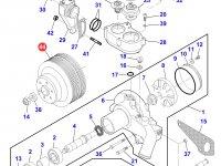 Шкив водяного насоса двигателя трактора Massey Ferguson — 836867627