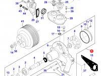 Охлаждающий(водяной) насос двигателя трактора Massey Ferguson — 836867628