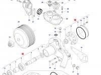 Охлаждающий(водяной) насос двигателя трактора Challenger — 836867628