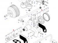 Охлаждающий(водяной) насос двигателя трактора Challenger — 836867723