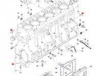 Блок двигателя Sisu Diesel трактор Challenger — 836873095