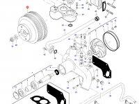 Шкив водяного насоса двигателя трактора Challenger — 836873115