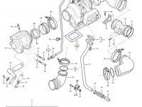 Прокладка турбокомпрессора двигателя трактора Challenger — 836886358