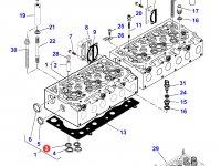 Седло выпускного клапана двигателя Sisu Diesel трактора Massey Ferguson — 837064907