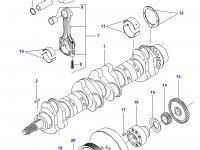 Поршень двигателя Sisu Diesel для трактора Challenger — 837064948