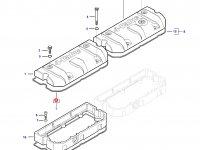 Прокладка клапанной крышки двигателя Sisu Diesel трактор Challenger — 837067881