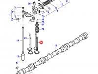 Впускной клапан двигателя Sisu Diesel трактора Massey Ferguson — 837069003