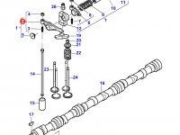 Коромысло(рокер) клапана двигателя Sisu Diesel трактора  Challenger — 837069011