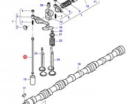 Штанга толкатель клапана двигателя Sisu Diesel трактор Challenger — 837069014