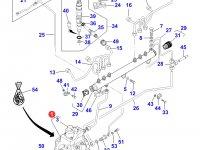 Топливный насос высокого давления (ТНВД) двигателя Sisu Diesel трактора Massey Ferguson — 837069148