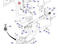 Распылитель форсунки двигателя Sisu Diesel трактора Massey Ferguson — 837069408