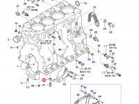 Масляная форсунка охлаждения поршня двигателя Sisu Diesel — 837070021