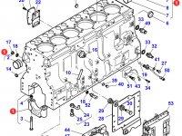 Блок двигателя Sisu Diesel трактор Challenger — 837070103