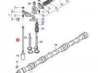 Штанга толкателя клапана двигателя Sisu Diesel трактора Massey Ferguson — 837070119