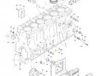 Датчик давления масла в двигателе трактора Challenger — 837070201