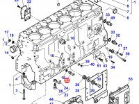 Датчик давления масла в двигателе трактора Massey Ferguson — 837070201
