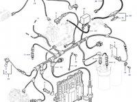 Датчик давления топлива в ТНВД двигателя трактора Challenger — 837070209