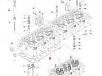Прокладка ГБЦ двигателя Sisu Diesel трактора Massey Ferguson — 837070290