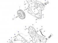 Натяжитель приводного ремня двигатель Sisu трактора Challenger — 837073101