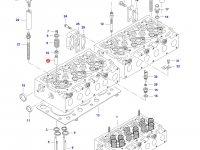 Направляющая втулка клапана двигателя Sisu Diesel трактора Massey Ferguson — 837073174