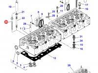 Болт головки блока цилиндров двигателя Sisu Diesel трактора Massey Ferguson — 837073571