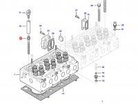 Болт головки блока цилиндров двигателя Sisu Diesel трактор Challenger — 837073571