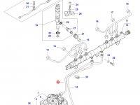 Топливная трубка двигателя Sisu Diesel трактор Challenger — 837073573