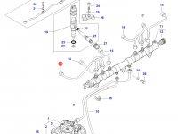 Топливная трубка двигателя Sisu Diesel трактор Challenger — 837073574